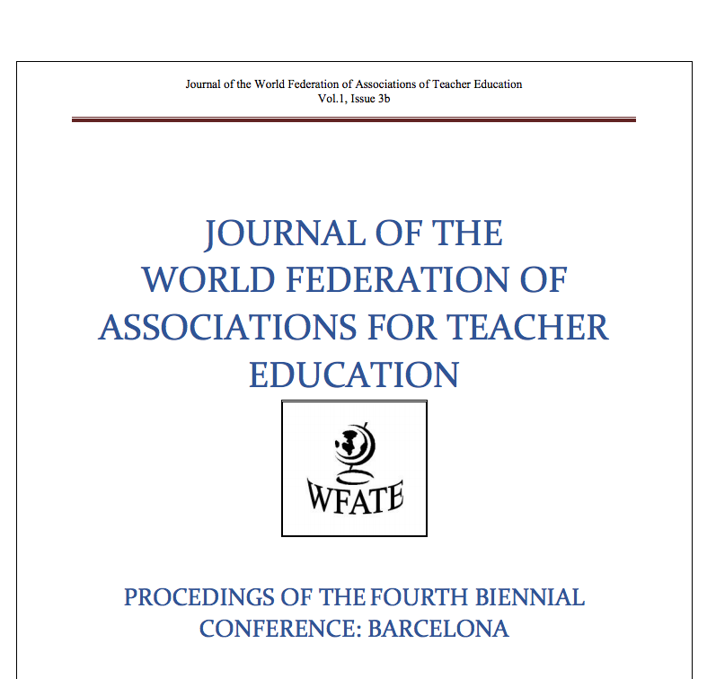 Journal of the World Federation of Associations of Teacher Education
