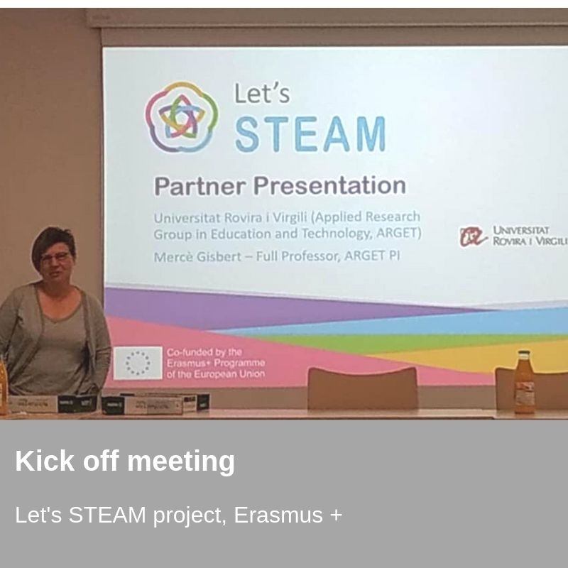 Let's Steam project, Erasmus +